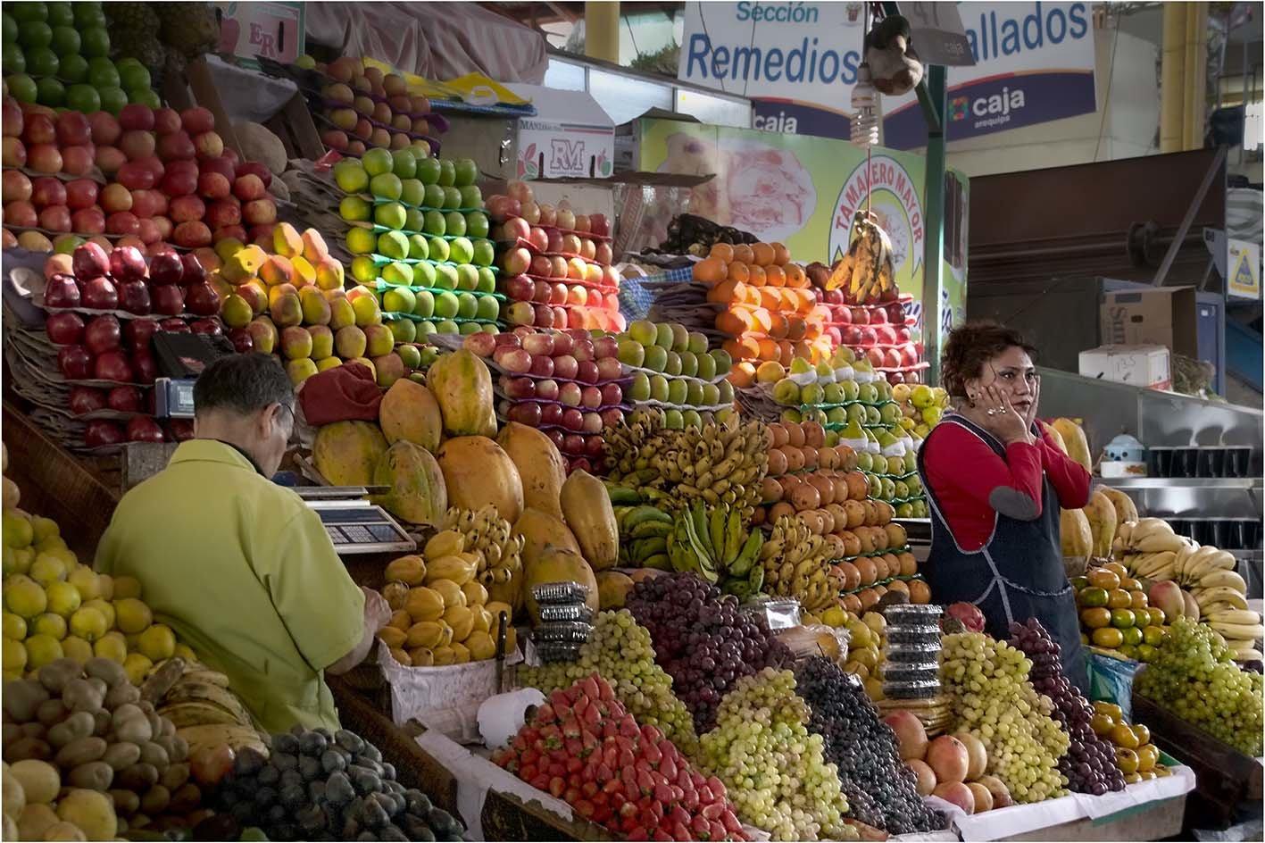 Emoi au marché