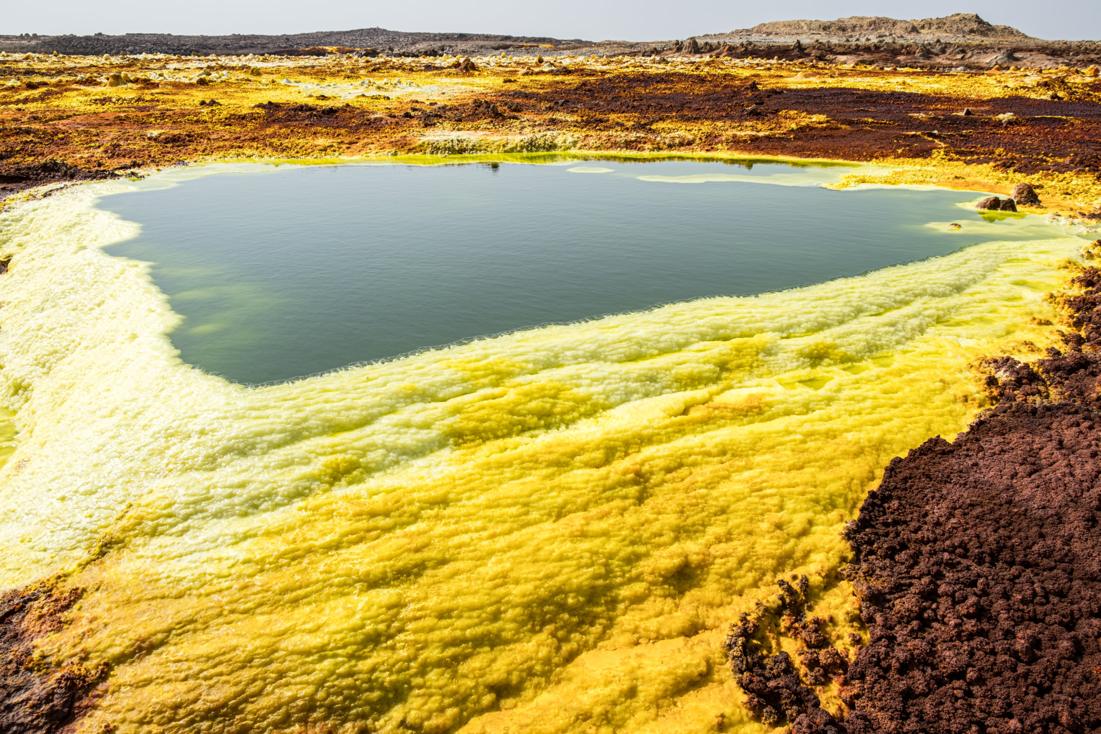 Dans le désert du Danakil, un site exceptionnel, Ethiopie, 2018
